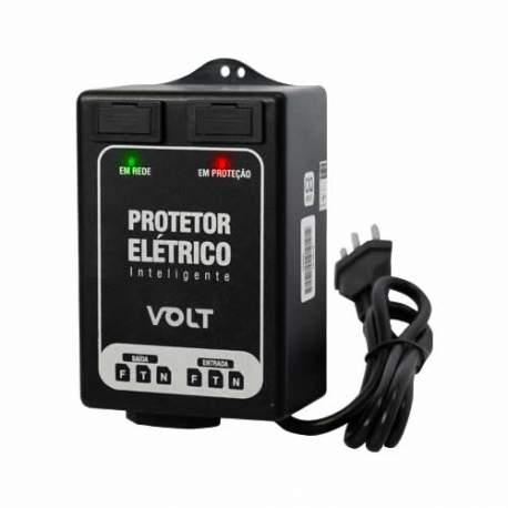 Protetor Eletrico Inteligente 110/220v 10a Volt 601005 Ptr 01
