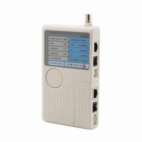 Equipamento Teste Cont. Rj45/rj11/usb/bnc Link + 1010 Ct200