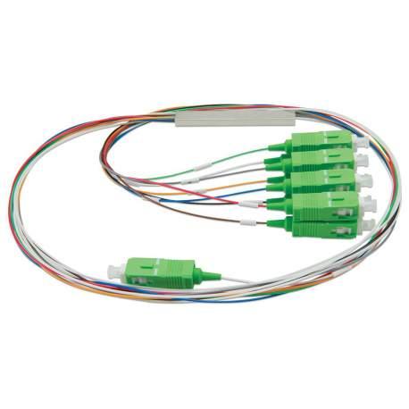 Splitter 1x8 Sc Upc Sm Balanceado Plc Unit. Ad - 10204 Adconnect/fibra