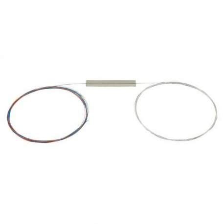 Splitter 1x2 Sem Conector Balanceado Plc Intelbras Xfs 120 4830013 /fibra