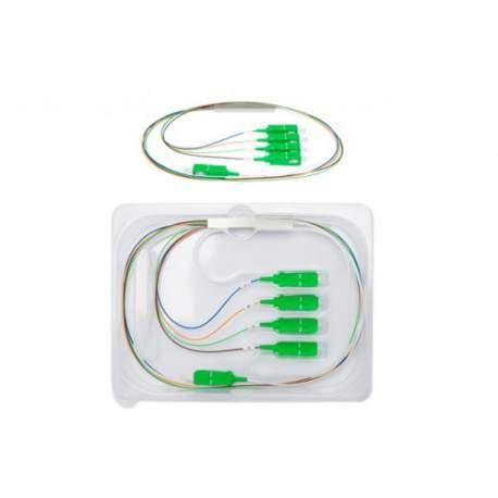 Splitter 1x4 Sc Apc Balanceado Plc Intelbras Xfs 142 4830019 /fibra