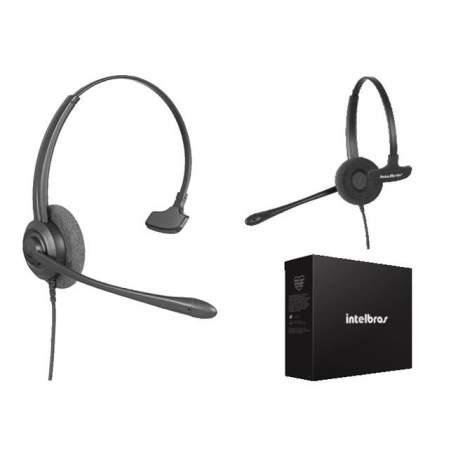 Headset Tiara Monoauricular Chs 55 Usb 4010058 Intelbras