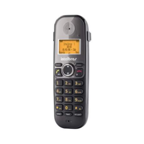 Telefone S/fio Ts 5150 Preto C/identif. Intelbras-tho 4125150