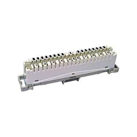 Bloco Engate Rapido 10 Pares Lkbcr10 M10 Link + 10014