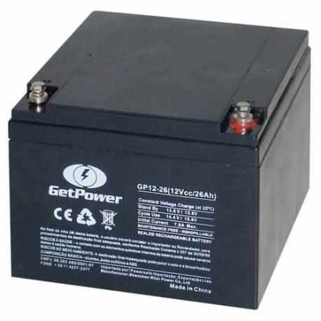 Bateria Selada P/nobreak 12v/26ah Getpower