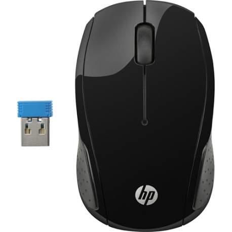 Mouse Usb Optico S/fio Preto X200 Oman Hp